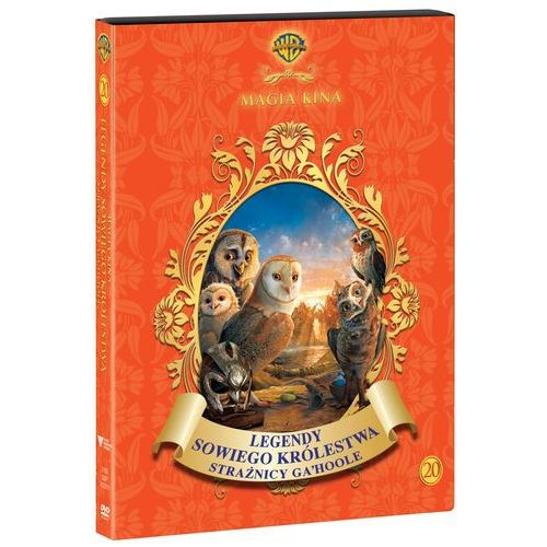 Zack snyder Legendy sowiego królestwa: strażnicy ga'hoole magia kina(dvd) - od 24,99zł darmowa dostawa kiosk ruchu