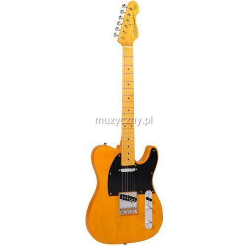 Vintage v52bsbs gitara elektryczna, butterscotch