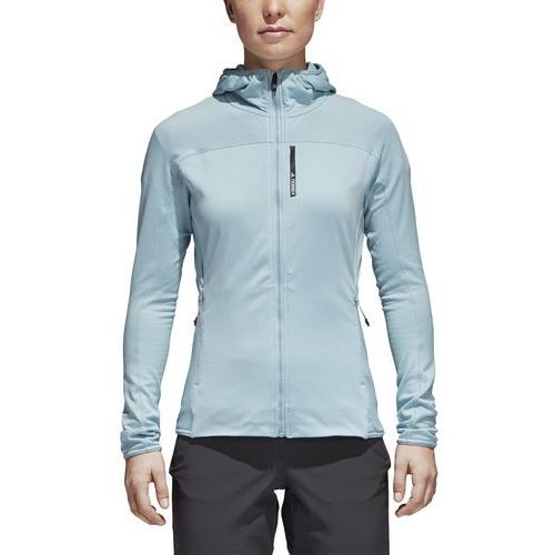 Bluza z kapturem z polaru adidas CF9864, poliester