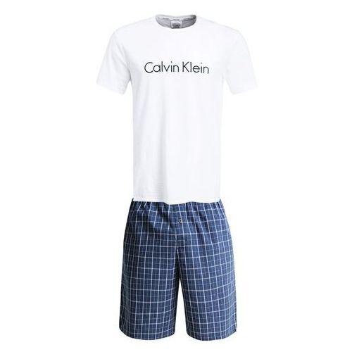 Calvin Klein Underwear CREW SET Piżama bristol plaid, kolor niebieski