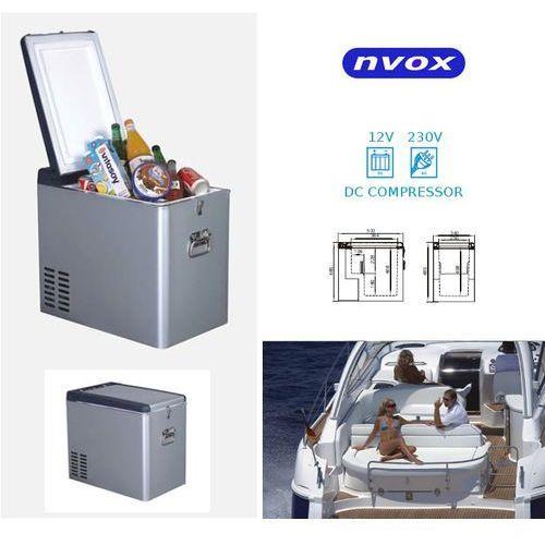 NVOX K35P lodówka turystyczna samochodowa 35L sprężarkowa z kompresorem 12V 230V - produkt z kategorii- lodówki turystyczne