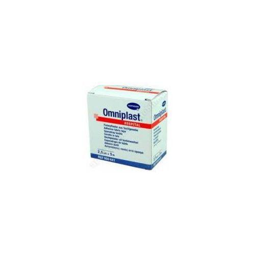 Plaster Omniplast 2,5cm x 5m 1sztuka (lek Pozostałeleki i suplementy)