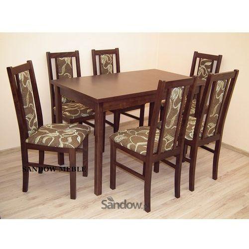Mały zestaw do kuchni, stół plus 6 krzeseł, super cena. z kategorii zestawy mebli kuchennych