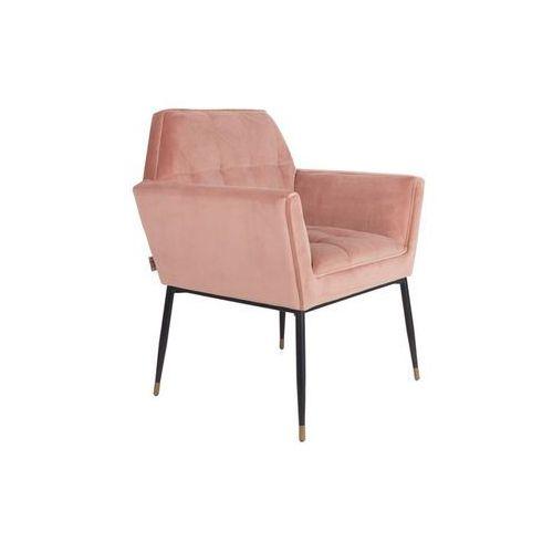 FOTEL KATE - różne kolory różowy aksamit/welur tak