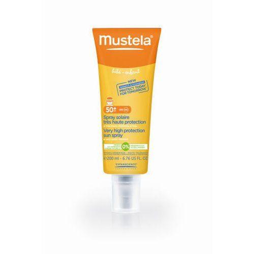 Laboratoires expanscience Mustela sun spray ochronny przeciwsłoneczny spf 50+ 200ml