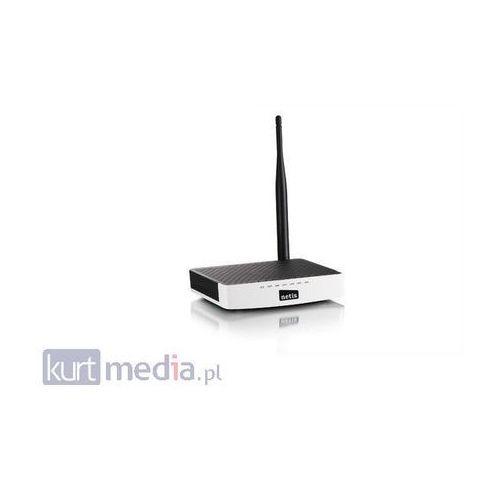 ROUTER DSL WIFI G/N150 + LANX4 ODCZEPIANA ANTENA 5 DBI NETIS WF2411D (punkt dostępowy)
