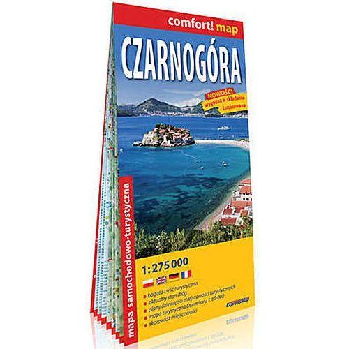 Czarnogóra laminowana mapa samochodowo-turystyczna 1:275 000 - Praca zbiorowa, ExpressMap