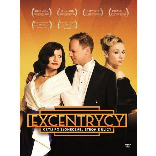 Excentrycy, czyli po słonecznej stronie ulicy (DVD) - Janusz Majewski, 79841302198DV (5520903)