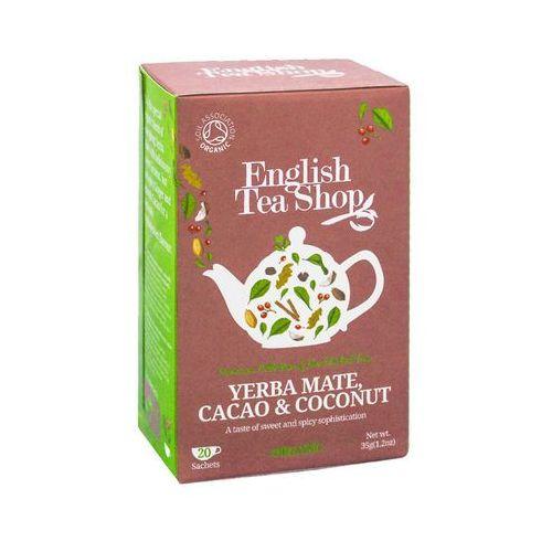 Ets yerba mate cacao & coconut 20 saszetek marki English tea shop