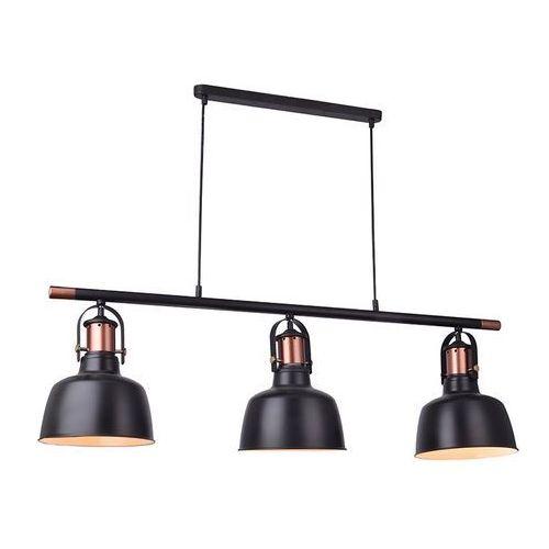 Lampa wisząca DARLING 3 LINE BK MD50686-3A – Azzardo + LED - Autoryzowany dystrybutor AZzardo (5901238421443)