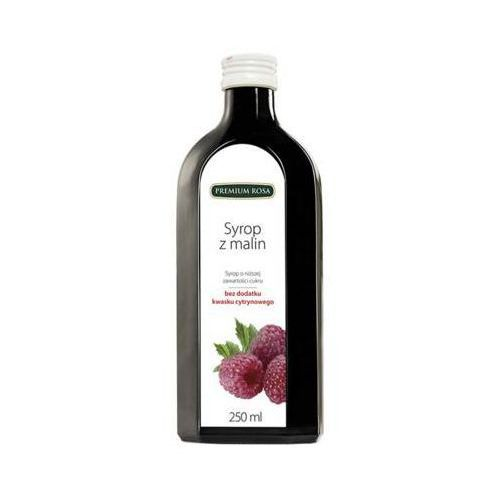 Premium rosa 250ml malina syrop o niższej zawartości cukru