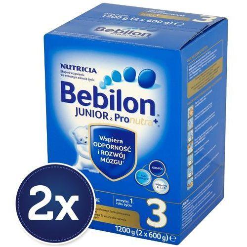 Bebilon Zestaw 2x  1200g junior 3 z pronutra mleko modyfikowane po 12 miesiącu | darmowa dostawa od 150 zł!, kategoria: mleka dla dzieci