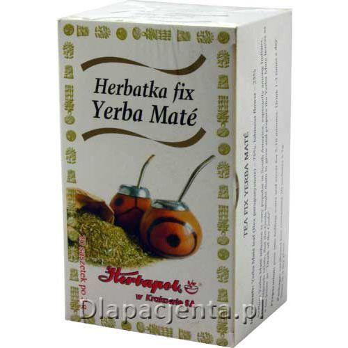 Herbatka yerba mate fix - 3,0g * 20 szt marki Herbapol