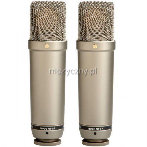 nt1-a pair 2 fabrycznie parowane mikrofony nt1 a marki Rode
