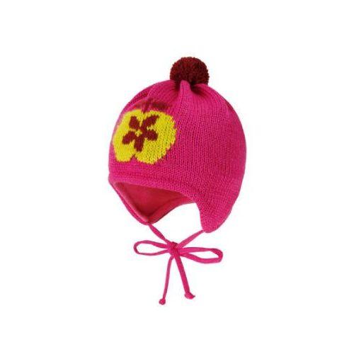 MaxiMo Mini Czapka Jabłko pink-vin