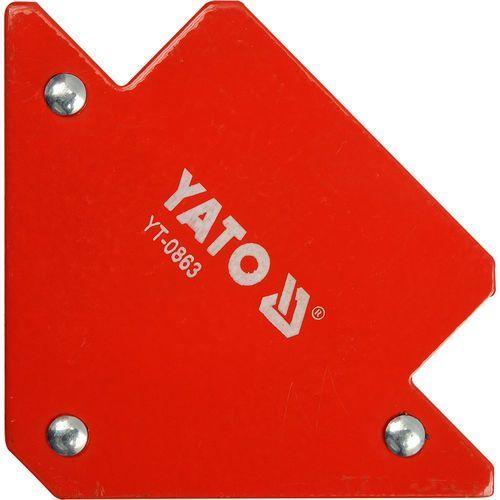 Spawalniczy kątownik magnetyczny 82x120x13 mm / yt-0863 /  - zyskaj rabat 30 zł marki Yato