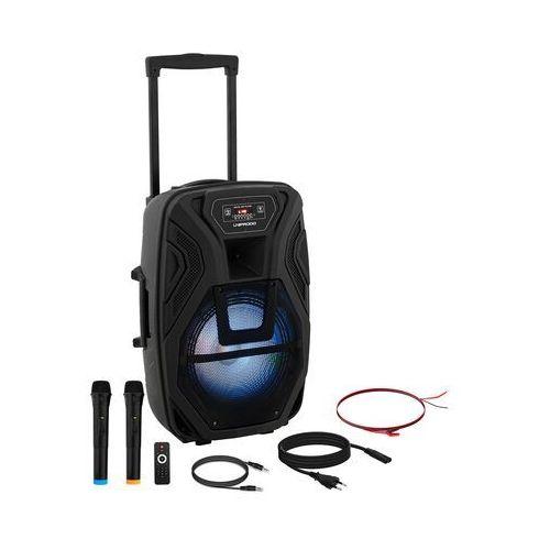 Uniprodo Głośnik przenośny - RMS 40 W - Bluetooth - 2 mikrofony CON.PAS12-01 - 3 LATA GWARANCJI