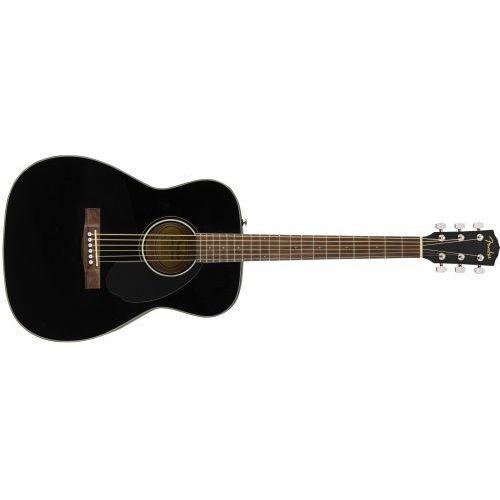 cc-60s concert, walnut fingerboard, black gitara akustyczna marki Fender