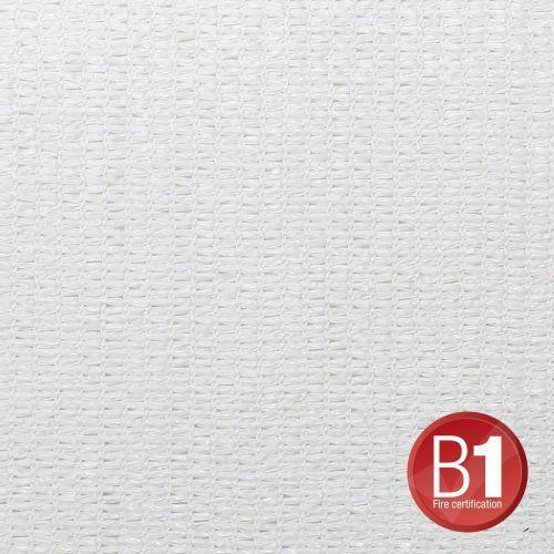 Adam Hall 0155 X 36 W - Gaza typu 100, 3 x 6 m, z oczkami, biała