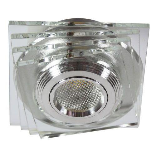 Oprawa halogenowa CANDELLUX SS-32 AL/TR (3 W) LED COB Szkło Transparentne
