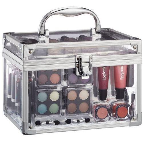 Makeup trading schmink set transparent w kosmetyki zestaw kosmetyków complet make up palette