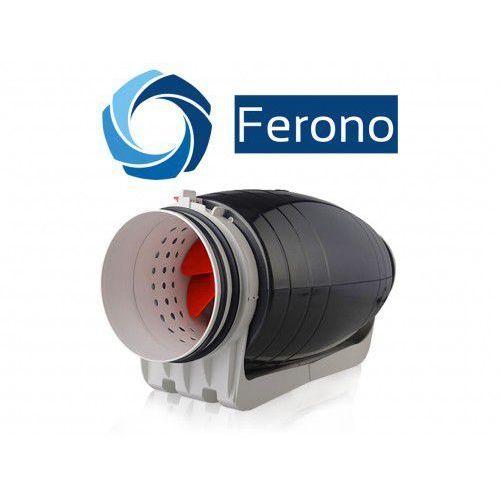 Ferono Wentylator kanałowy, plastikowy, cichy 150mm, 530 m3/h (fkp150sl)