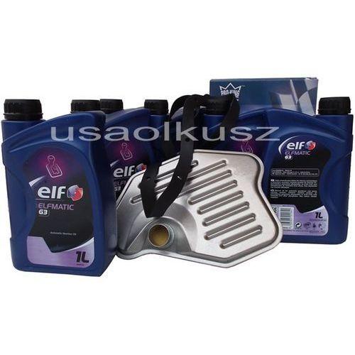 Filtr oraz olej g3 automatycznej skrzyni biegów ford thunderbird 1996-1997 marki Elf