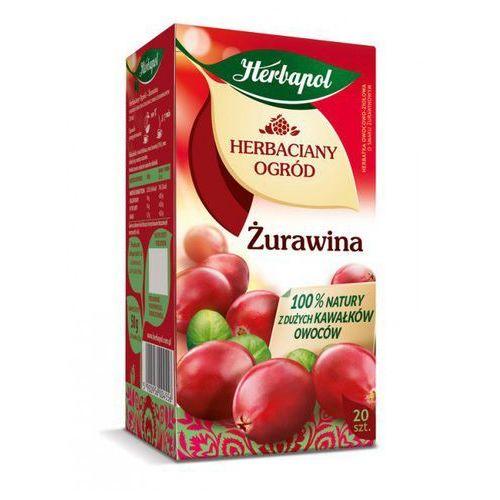 Herbatka owocowo-ziołowa herbaciany ogród żurawina ex'20 50 g marki Herbapol