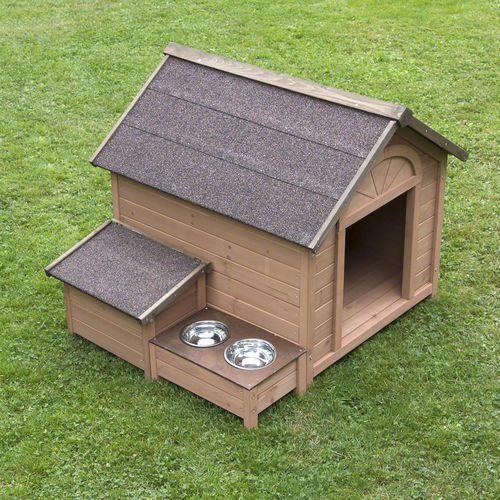 Buda dla psa sylvan komfort - l: szer. x gł. x wys.: 104 x 91 x 81 cm  -5% rabat dla nowych klientów  dostawa gratis + promocje marki Zooplus exclusive