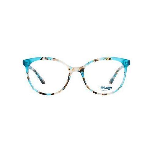 Okulary Korekcyjne Woodys Barcelona Mandarine 03