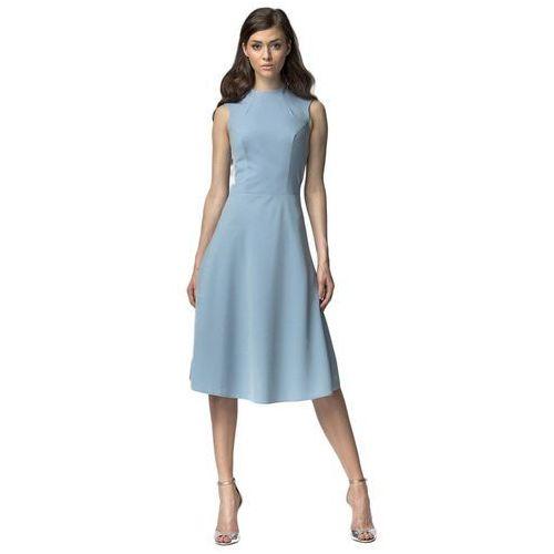 Sukienka midi - niebieski - s62 marki Nife