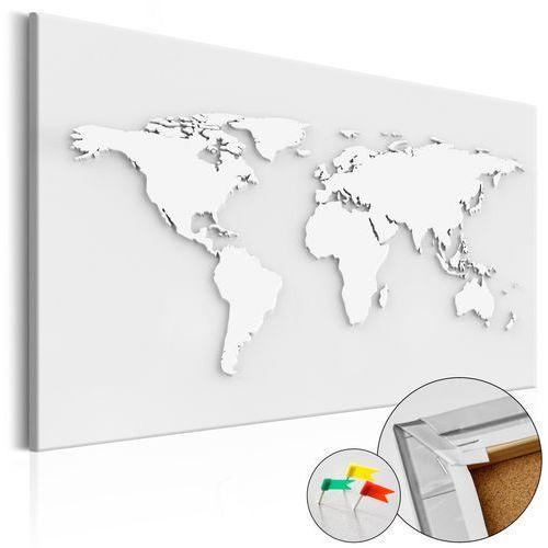 Artgeist Obraz na korku - monochromatyczny świat [mapa korkowa]