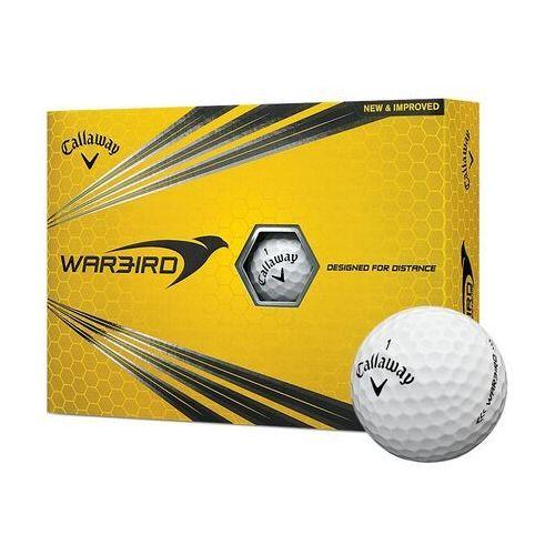 Piłki golfowe CALLAWAY WARBIRD (białe) (0884885977523)