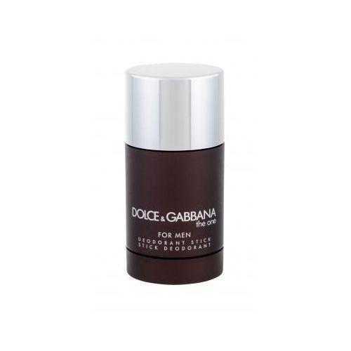 Dolce&gabbana the one for men dezodorant 75 ml dla mężczyzn