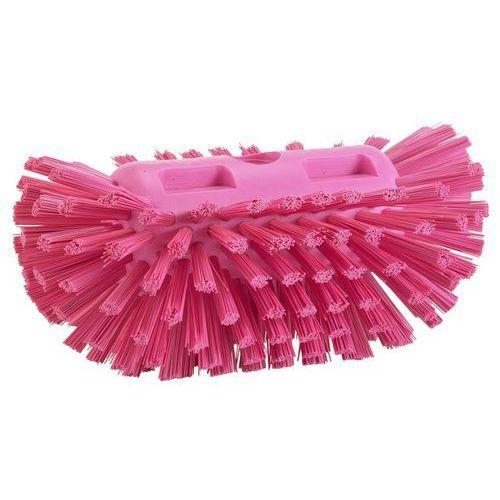 Szczotka do czyszczenia okrągłych zbiorników, twarda, różowa, 205 mm, VIKAN 70371, marki Vikan do zakupu w Gastrosilesia