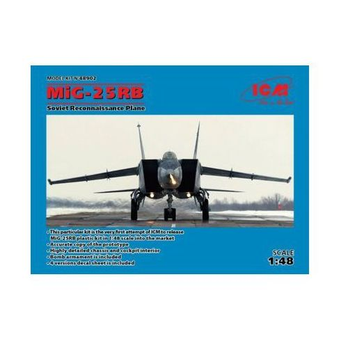 I-5 MiG 25RB Soviet Reconnaissance Plane