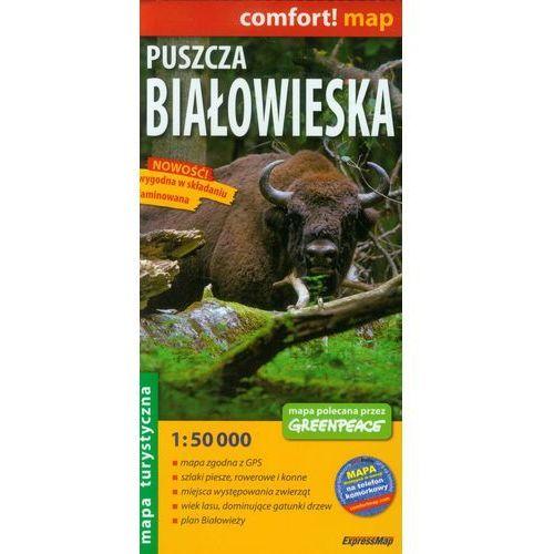 Mapa Laminowana ExpressMap Puszcza Białowieska 1:50 000 comfort! map, praca zbioowa