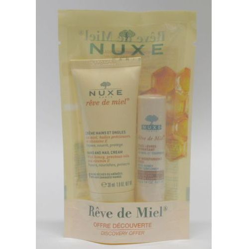 NUXE Reve de Miel Krem do rąk i paznokci 30 ml + NUXE Reve de Miel Pomadka 4 g z kategorii kremy do rąk