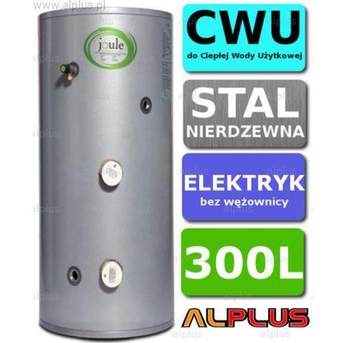 Joule Bojler elektryczny 300l cyclone direct nierdzewka grzałka 2x3kw podgrzewacz cwu bez wężownicy wysyłka gratis!
