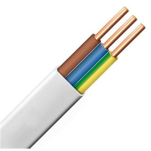 Przewód instalacyjny płaski ydyp 3x2,5 450/750v od producenta Telefonika kable
