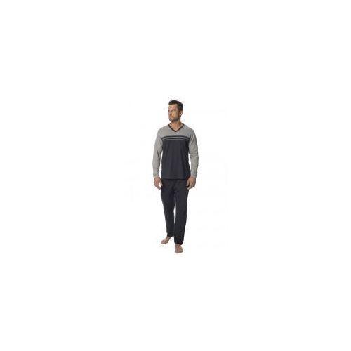 ddd5d56fa58956 ... Bawełniana piżama męska Rossli SAM-PY-128 szara, kolor szary 83,92 zł  Piżama męska Rossli SAM-PY-128 z długimi spodniami i długim rękawem » ...