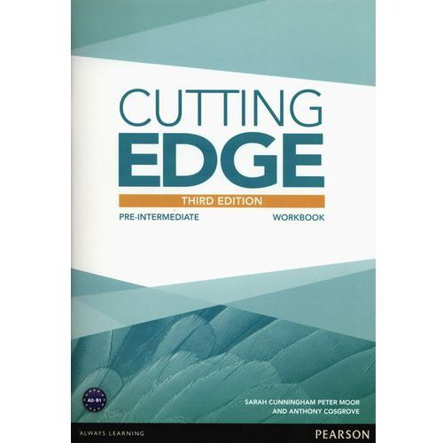 Cutting edge pre-intermediate Workbook without key (9781447906643)