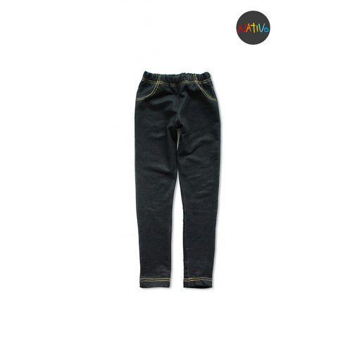 b4614415cc179d Nativo Spodnie dresowe dziewczęce 4m2948 (5902198904809) 84,99 zł  elastyczne legginsy stylizowane na jeansowe spodnie.