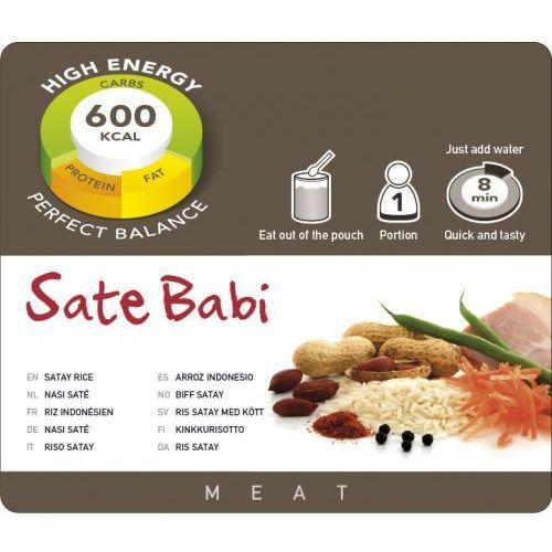 Ryż z szynką w sosie satay Adventure Food (1 Porcja) (8717624621420)