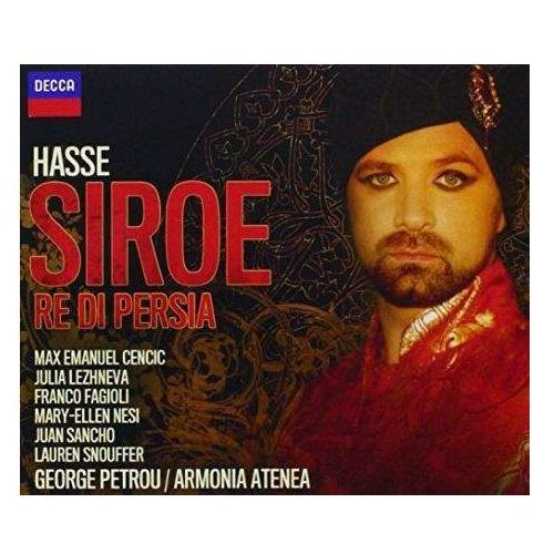Hasse, Handel - Siroe, re Di Persia / Armonia Atenea, George Petrou, Max Cencic, Juan Sancho, Julia Lezhneva, Franco Fagioli [2CD]