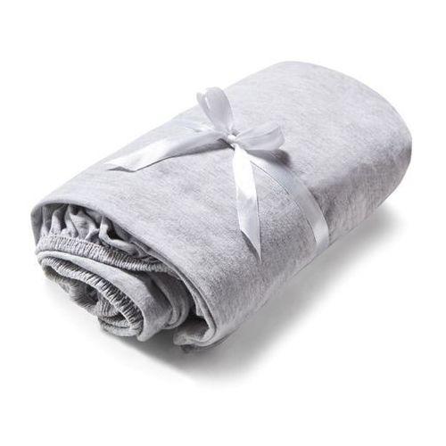 Prześcieradło dziecięce Soft Grey 120x60 Bawełna ze sklepu Designersko.pl