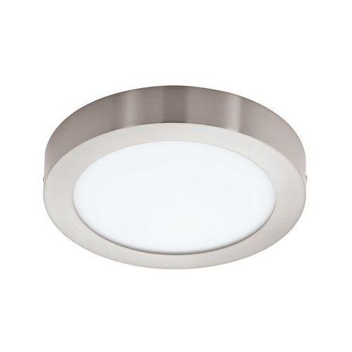 Eglo Plafon lampa sufitowa fueva 1 94527 natynkowa oprawa led 22w okrągła nikiel satynowany (9002759945275)