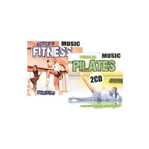 Music Pilates + Music Fitness - 2 CD neuveden