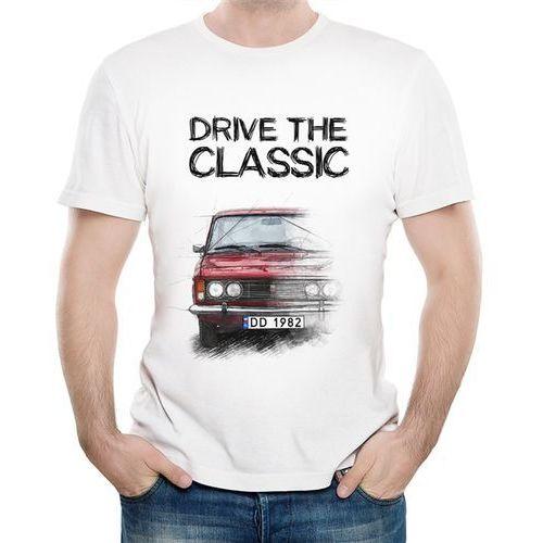 Koszulka Męska z Nadrukiem fana FSO Polski Fiat 125p