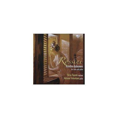 Silvia Vajente, Adriano Sebastiani - Rossini: Ariettes italiannes for voice and guitar (5028421946283)